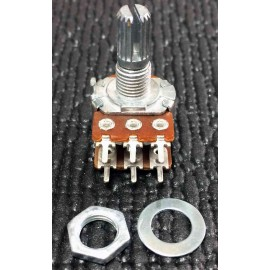 Linear DUAL potentiometer - B250K