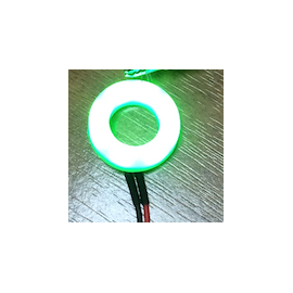 LED Halo 12mm Green