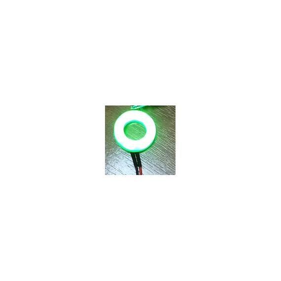LED Halo 12mm Green