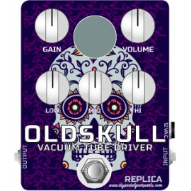 OLDSkull REPLICA pedal KIT (Real Tube Distortion/overdrive)