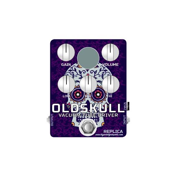 OLDSkull REPLICA pedal KIT (Real Tube Distortion/overdrive)