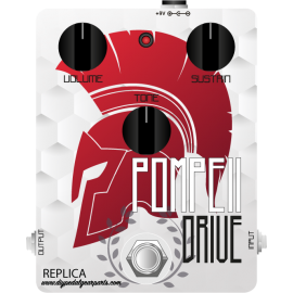 Pompeii Drive Pedal REPLICA KIT overdrive, distortion