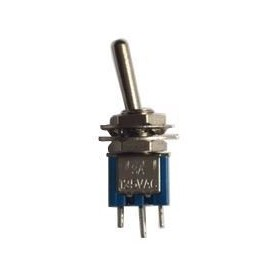 SPDT toggle switch ON-ON (3 lugs)