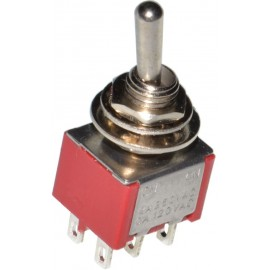 DPDT toggle switch ON-OFF-ON
