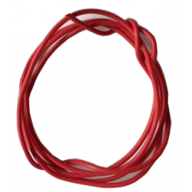 Flexible red wire 0.25mmq - 1mt