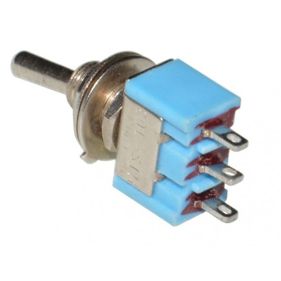 SPDT toggle switch ON-OFF-ON - DIY PEDAL GEAR PARTS