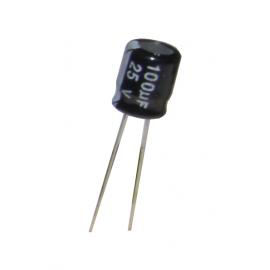 Radial Electrolytic Capacitor 100uF 25V