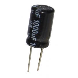 Condensatore elettrolitico radiale 1000uF 25V
