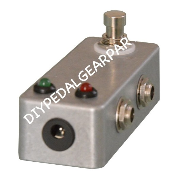 kit guitar pedal a b switch box 1 in 2 out diy pedal gear parts. Black Bedroom Furniture Sets. Home Design Ideas