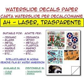 Waterslide - Transparent - Laser