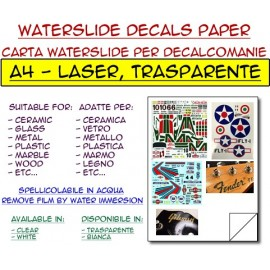 Waterslide - Transparente - Laser