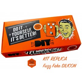 Pedale Fuzz Fake Silicon replica KIT